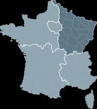 Réalisations de la région Nord-Est