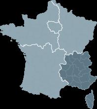 Réalisations de la région Sud-Est