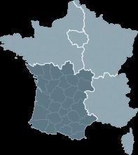 Réalisations de la région Sud-Ouest